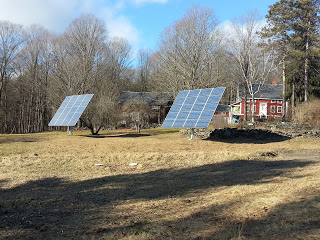 solar powered woodworking shop